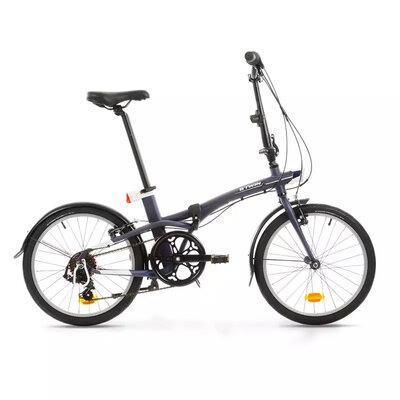 bicicleta pliabila btwin