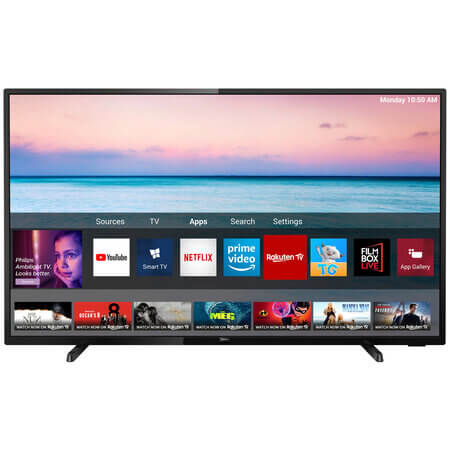 Televizor LED Smart Philips, 4K Ultra HD
