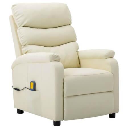 Fotoliu de masaj rabatabil electric, vidaXL