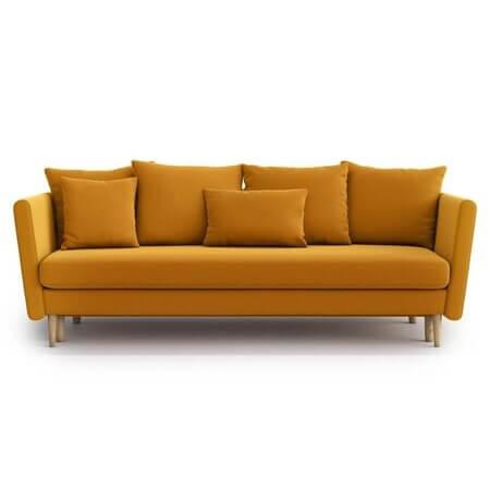 Canapea extensibila din catifea moderna